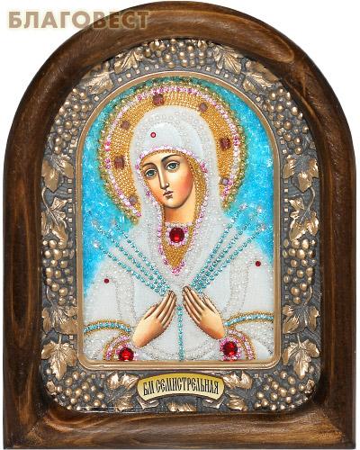 Икона Божией Матери Семистрельная (возможны различия в цветовой гамме)
