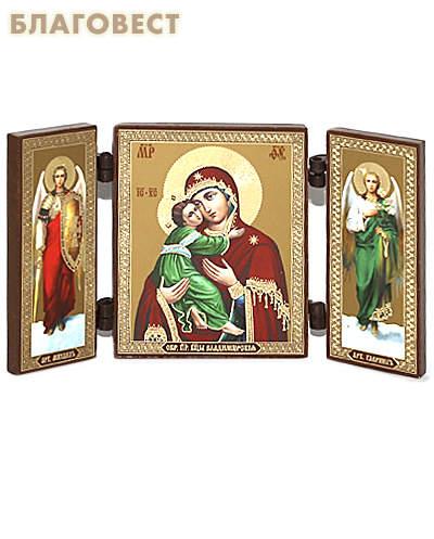Складень Пресвятая Богородица