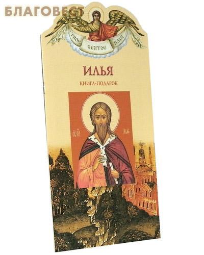 Твое святое имя. Илья. Книга-подарок