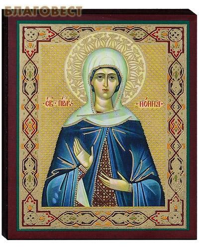 Икона святая праведная Нонна
