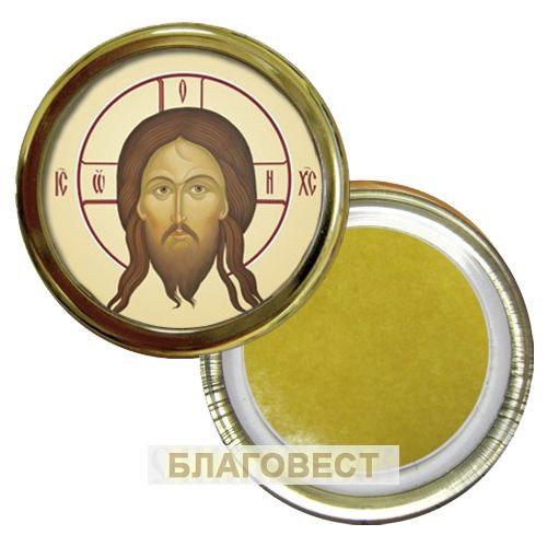 Икона Спас Нерукотворный, на скотче