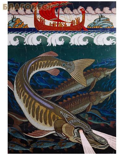 Пазл. Подводное царство. Художник Иван Билибин