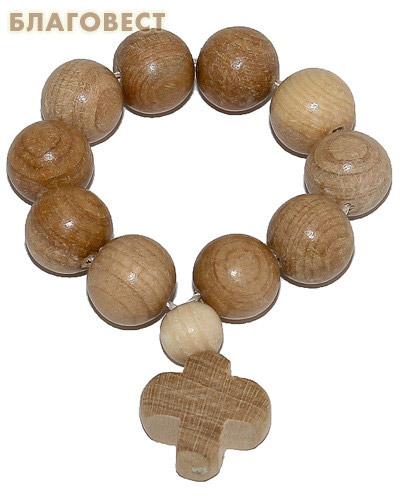 Четки деревянные Можжевельник.10 зёрен, (диаметр 10 мм) (  -  )