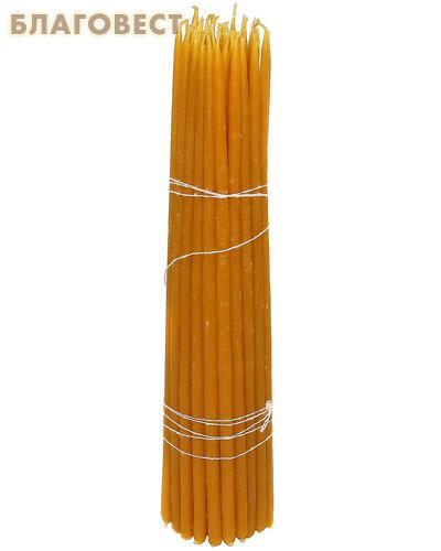 Свечи восковые конусные №3 (50шт, длина 240мм, толщина основания 5мм)