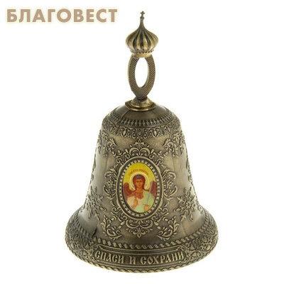 Колокольчик Ангел-хранитель - Спас Нерукотворный - Пресвятая Богородица