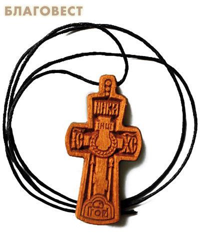 Крест нательный резной малый