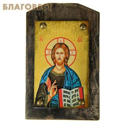 Икона на дереве Господь Вседержитель
