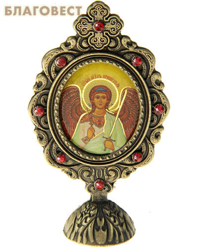 Икона Ангел-Хранитель на подставке