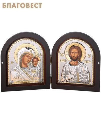 Складень Спаситель - Богородица