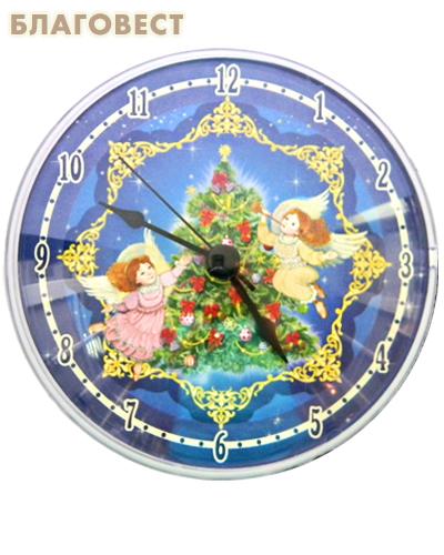 Часы акриловые на магните