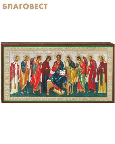 Икона Господь Вседержитель с предстоящими
