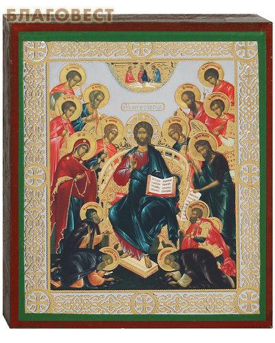 Икона Деисусный чин