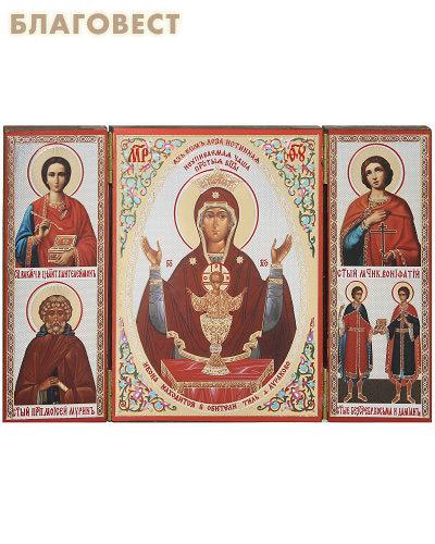Складень Богородица