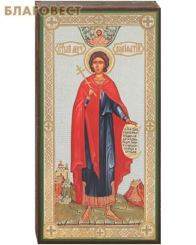 Икона святой мученик Вонифатий, аналойная