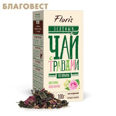Зеленый чай с липой и лепестками роз
