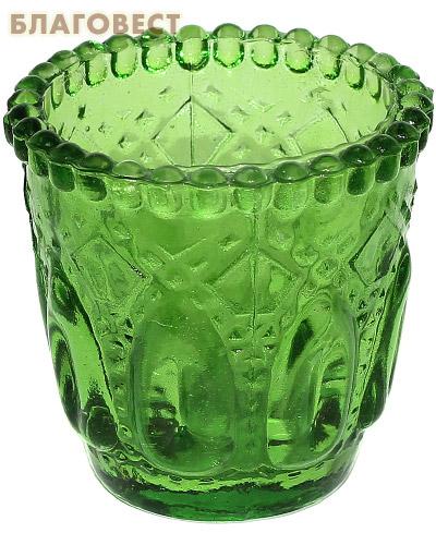 Лампада узорчатая, зеленая