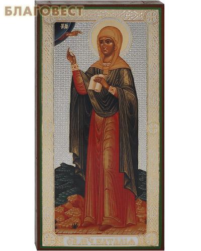 Икона Святая мученица Наталия, аналойная