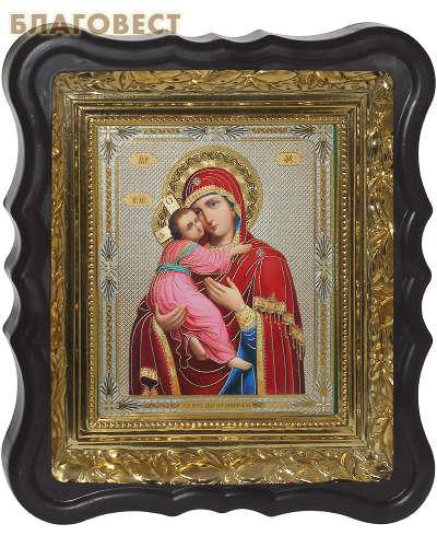 Икона Владимирская ПБ. Размер 28*24 см