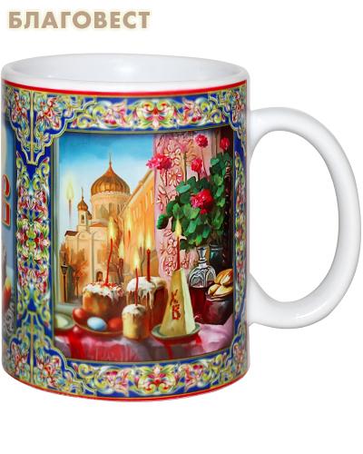 Кружка с чаем. Цейлонский чёрный крупнолистовой чай, 50г