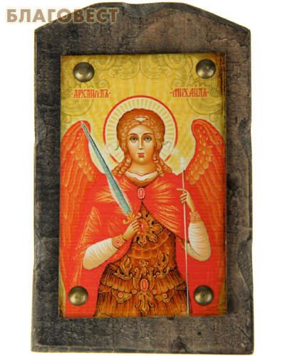 Икона на дереве Архангел Михаил