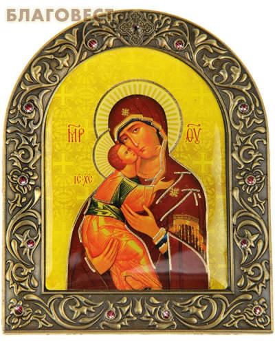 Икона на подставке Пресвятая Богородица