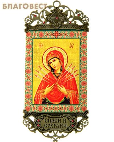 Икона-хоругвь Пресвятая Богородица