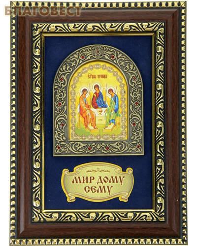 Панно икона Святая Троица