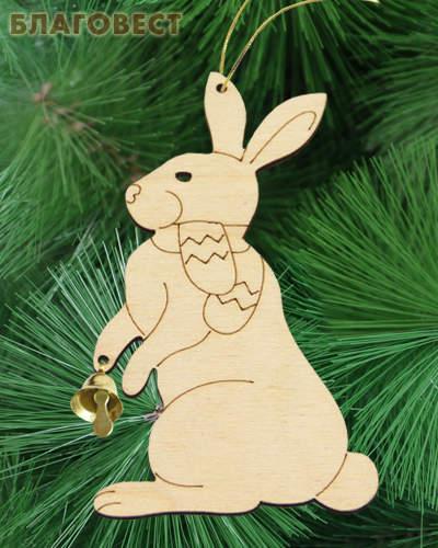 Рождественский сувенир для раскрашивания