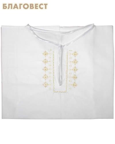 Рубашка (подростковая) для Крещения и купания в Святых источниках. Размер 34