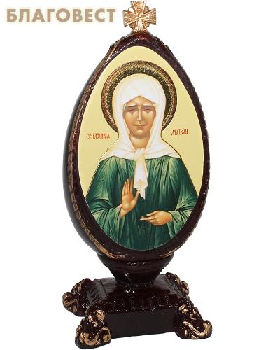 Яйцо пасхальное с иконой