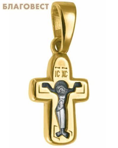 Крест двухсторонний Спаситель - Пресвятая Богородица