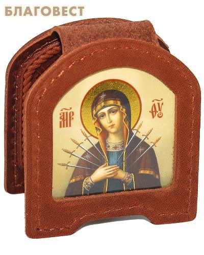 Икона дорожная раскладная Божией Матери