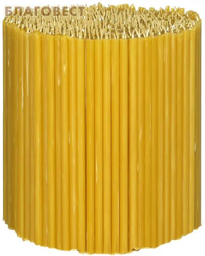Свечи церковные воскосодержащие (50% воска) №140, 2кг (700шт в пачке, размер свечи 155 х 4мм)