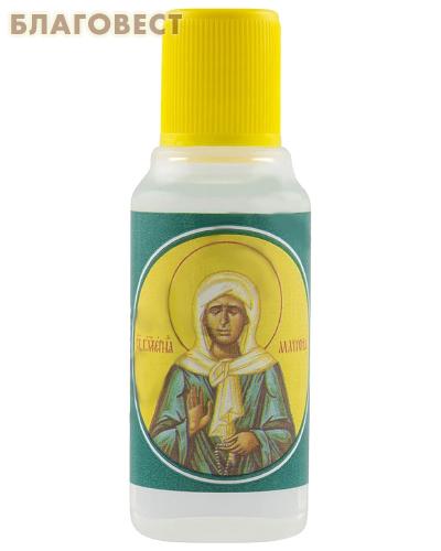 Масло Елей освященный на мощах Блаженной Матроны Московской, 25мл
