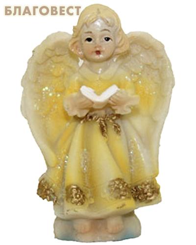 Ангел с окрытой книгой, керамика