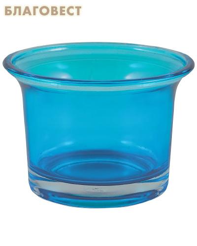 Лампада, цвет голубой