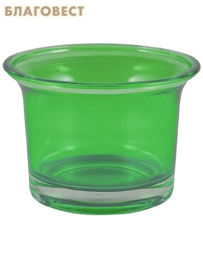 Лампада, цвет зеленый