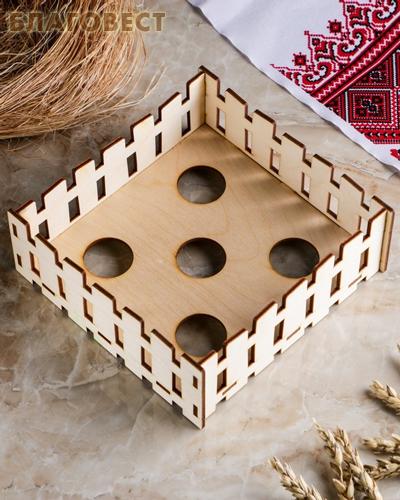 Пасхальный сувенир для раскрашивания подставка для яиц