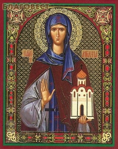 Икона Святая Ангелина Сербская