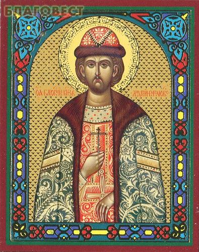 Икона Святой благоверный князь Андрей Боголюбский