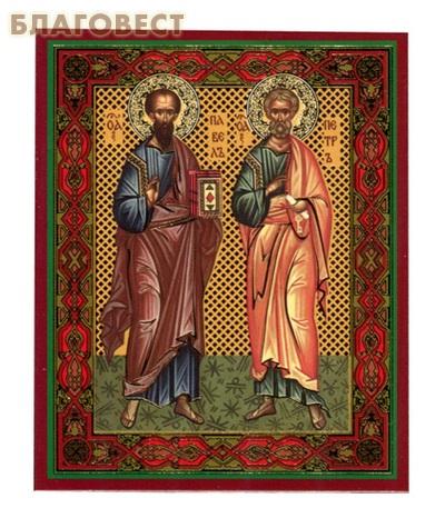 Икона Святые первоверховные апостолы Петр и Павел