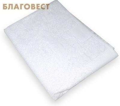 Покрывало ритуальное, 130*205 см. Цвет белый, ПЭ 100% ( не указано -  )