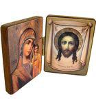 Складень двойной Пресвятая Богородица
