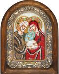 Икона Святые Иоаким и Анна (возможны различия в цветовой гамме)