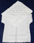 Крестильный набор «Крестик» (рубашка, пеленка-уголок). Возраст 0-6 месяцев. Ткань вышитая х/б