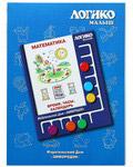 Математика. Время. Часы. Календарь. Комплект карточек для планшета Логико-малыш