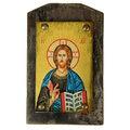 Икона Господь Вседержитель на деревянной основе