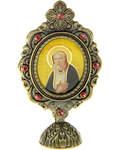 Икона прп. Серафим Саровский, на подставке
