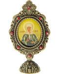 Икона Святая блаженная Матрона Московская на подставке