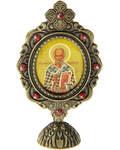 Икона Святитель Николай Чудотворец на подставке